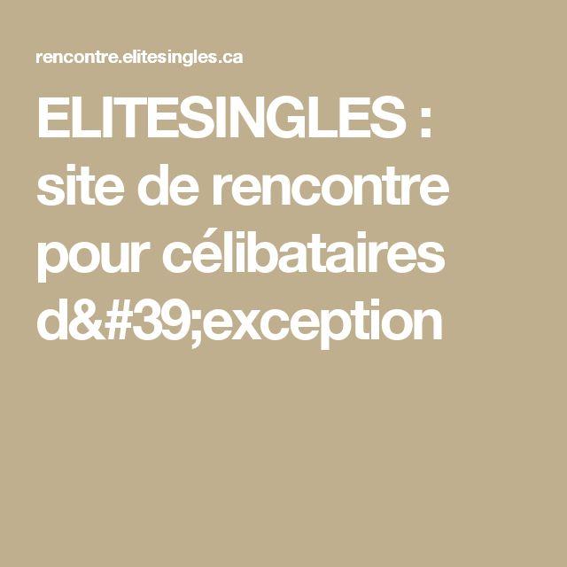 ELITESINGLES : site de rencontre pour célibataires d'exception