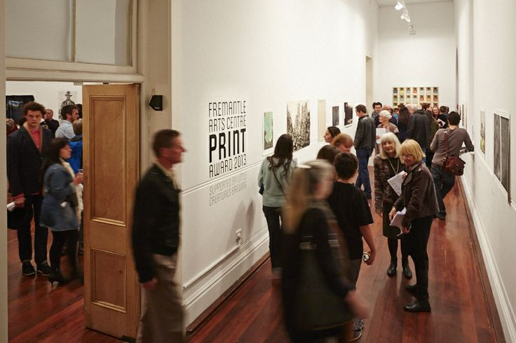 FAC Print Award 2013 supported by Little Creatures Brewing. Opening night photos.