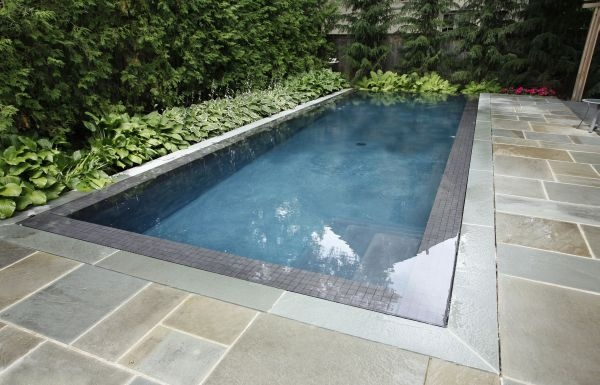 17 best images about quartzite pool deck coping on for Pool edges design