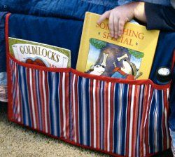 Make a bedside organizer and leave your nightstand uncluttered with books and magazines. Here's an easy sewing project that offers a stylish solution to an untidy children's bedroom. Keep books, a flashlight or even a sippy cup just a reach away. Follow Maureen Wilson as she demonstrates how to create this project with this video tutorial.
