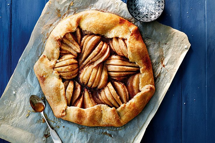 Spiced Pear Galette