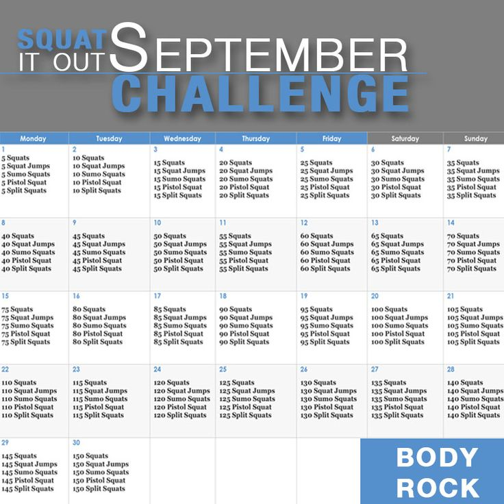 September is a great month-the leaves start changing and the weather gets just a tad bit cooler-well, depending on where you live! In Florida, it is still hot as s***. Here is a workout that you can do all month long to not only get your booty in tip top shape, but to also help ...