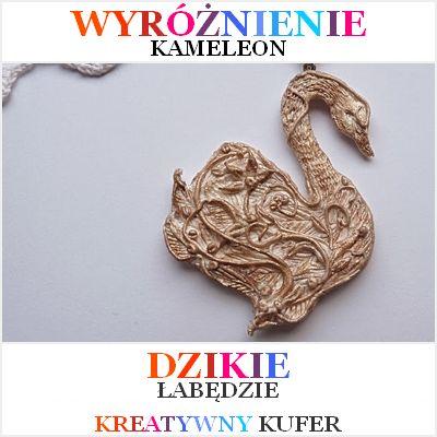 Wyniki Wyzwania Tematycznego - Baśń: Dzikie Łabędzie | Kreatywny Kufer http://pracownia-kameleon.blogspot.com/
