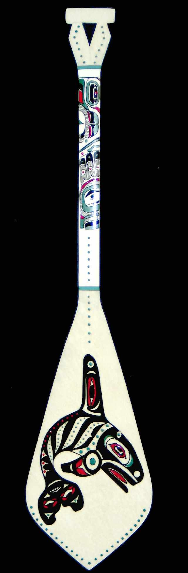 Tlingit Killer Whale Paddle ~ Avery Anderson