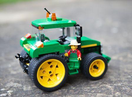 Custom LEGO John Deere Tractor