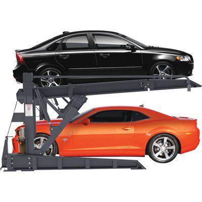 $4000— BendPak 2-Post Tilt Platform Car Stacker Parking Lift — 6000-Lb. Capacity, Model# PLT-6S