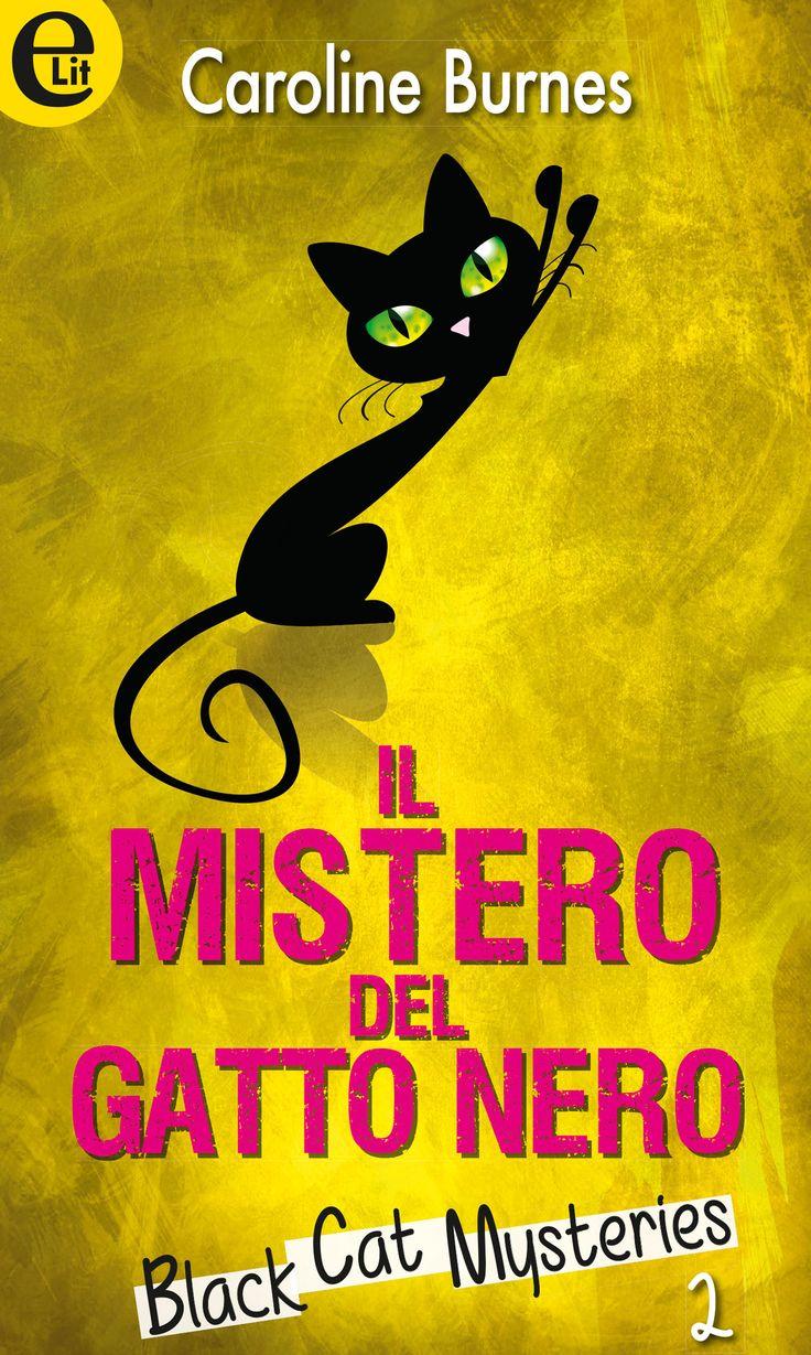 """Il mistero del gatto nero, C. Burnes - Quando un bellissimo e misterioso gatto nero si presenta alla sua porta, Cassandra capisce subito che si tratta di un altro segno del destino. Da qualche tempo strani e inquietanti sogni costellano le sue notti agitate e le fanno prevedere alcuni omicidi che poi puntualmente si avverano.  Serie """"Black Cat Mysteries"""" - Vol. 2"""