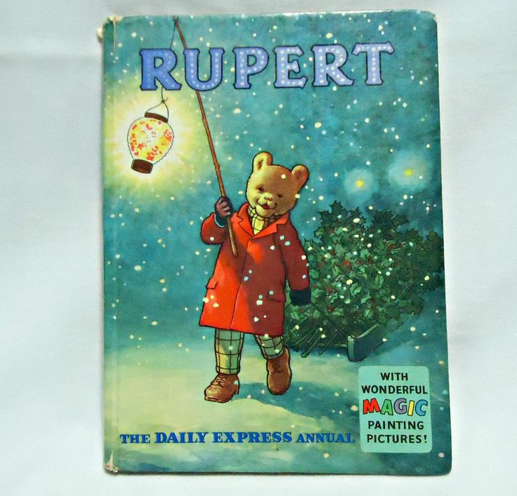 Vintage Rupert Book  1960 Children's Book by TreasureCoveAlly on Etsy