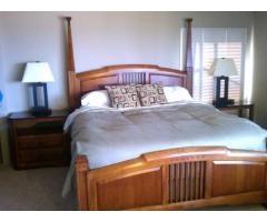 Thomasville american expressions craftsman cherry bedroom for Thomasville american expressions bedroom furniture