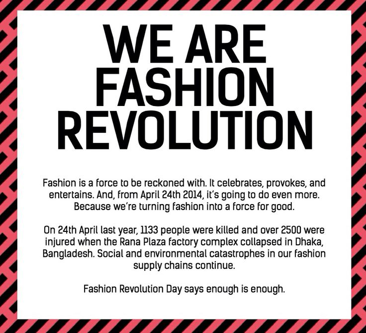 Happy fashion revolution day! Get involved! Wear your clothes #insideout and ask... Who made your clothes?