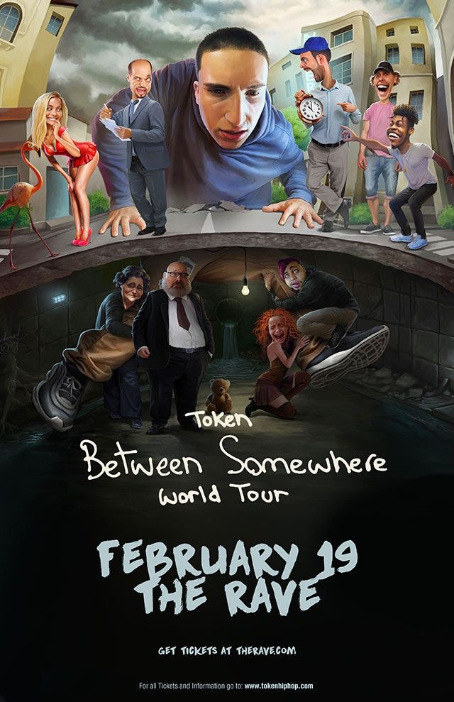 Between Somewhere Tour Tuesday February 19 2019 At 8pm The Rave
