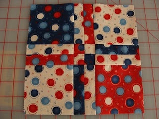 """Disappearing 4 patch tutorial. Uses 5"""" charm squares. There are heaps of different possibilities for this quilt. 2 or 3 colours or scrappy. Really fun and easy."""