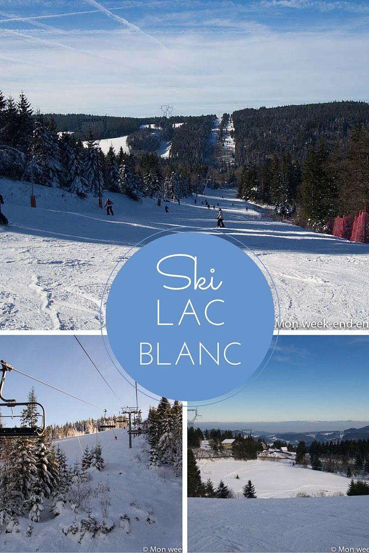 Ski en Alsace - la station de ski du Lac Blanc, dans la Vallée de Kaysersberg