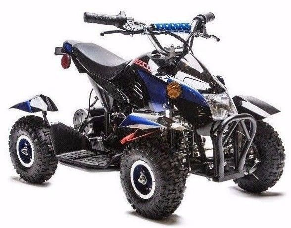 Rosso Motors 500W Kids ATV 4 wheeler. Over 500+ kids love this. What's better than seeing your boys / girls happily smiling? #atv #kids #education