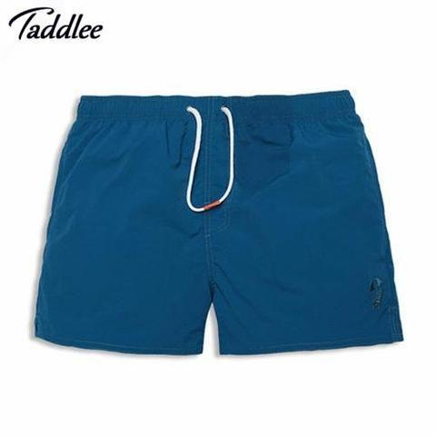 fcf1c0d908 Taddlee Brand Man Quick-drying Beachwear Board Shorts Mens Swimwear  Swimsuits Active Bermudas Men Workout Cargos Boxers Trunks