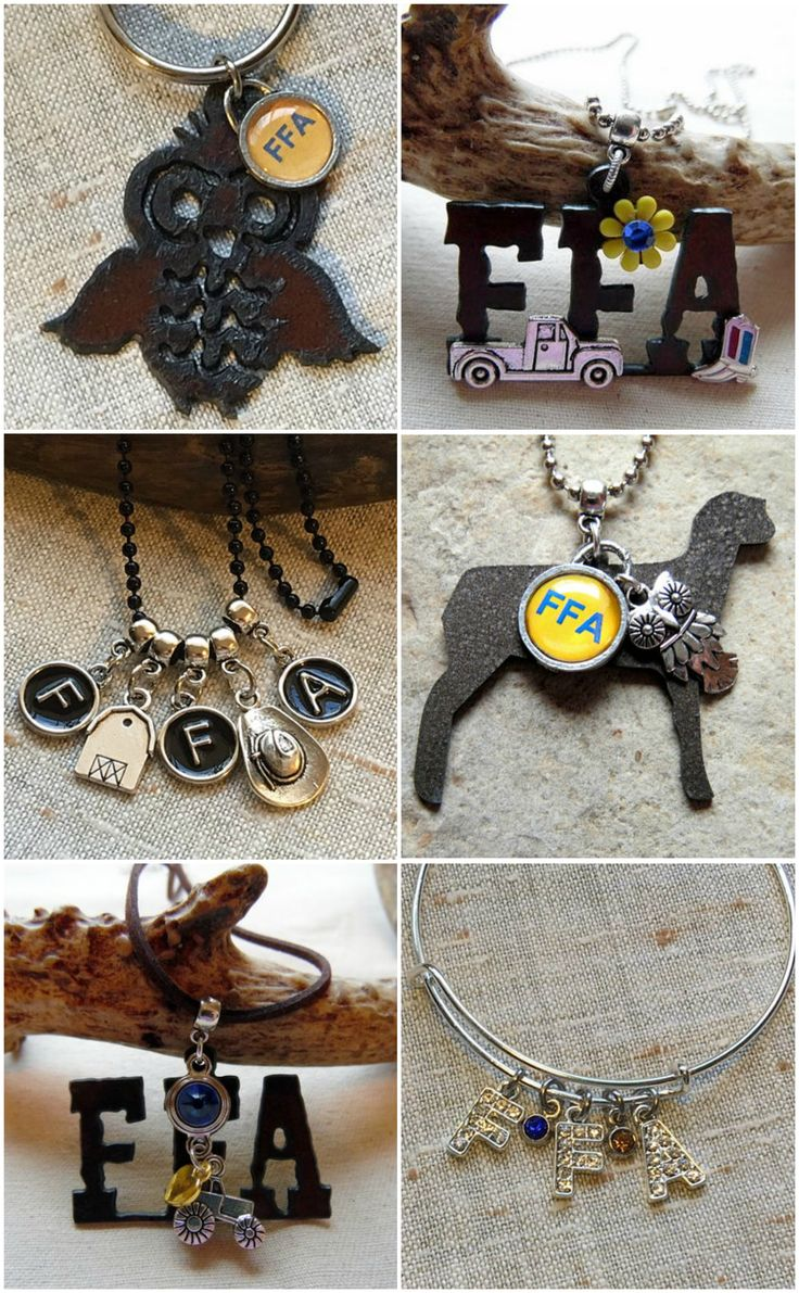 FFA Jewelry by Whippoorwill Valley. Check out the unique FFA, 4-H and livestock jewelry that Whippoorwill Valley offers. www.whippoorwillvalley.etsy.com