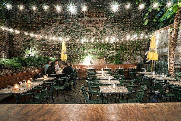Best Patio Brunches in NYC