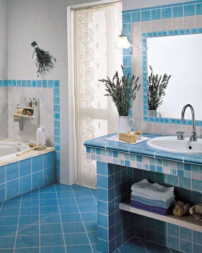Piastrella da bagno / a muro / da pavimento / in ceramica TURCHESE Cerasarda