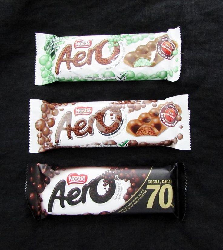 36 Nestle Aero Chocolate Bars 12 Aero Mint 12 Original Aero 12 Aero Dark #Nestle