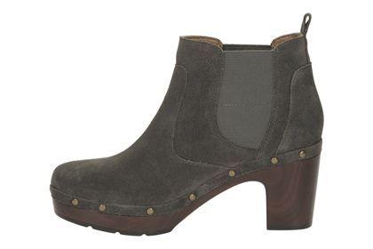 Clarks - Ledella Star Dark Grey or Brown Boots