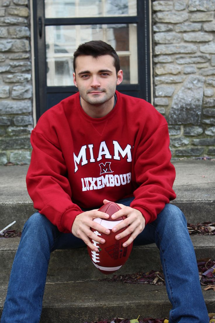 Study abroad in Luxembourg? If missed out on apparel then, get it from the Miami University Bookstore now!