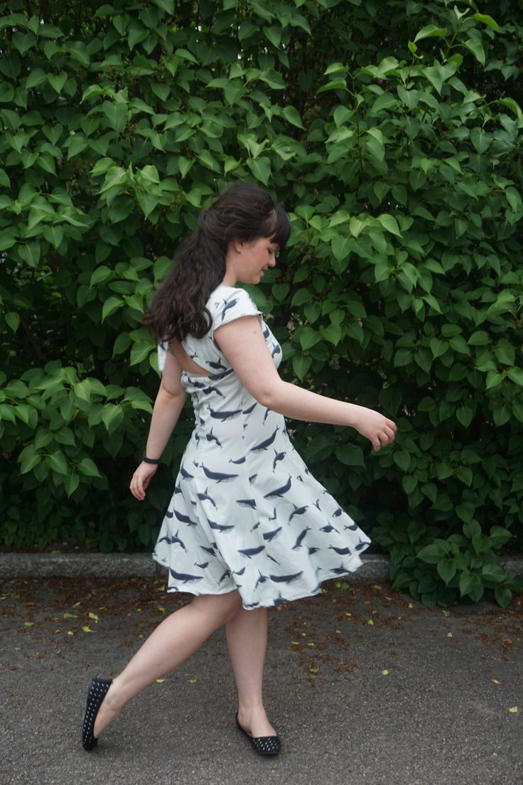 Gabrielle dress from Seamwork
