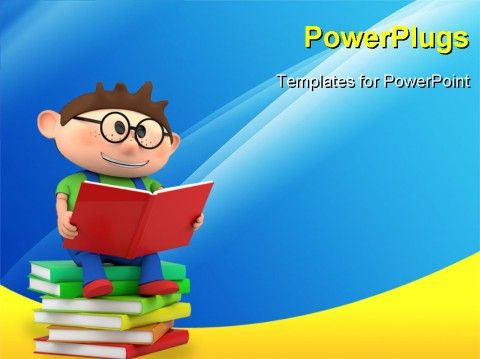 8 best ppt templates anime images on pinterest communication powerpoint template for reading toneelgroepblik Gallery