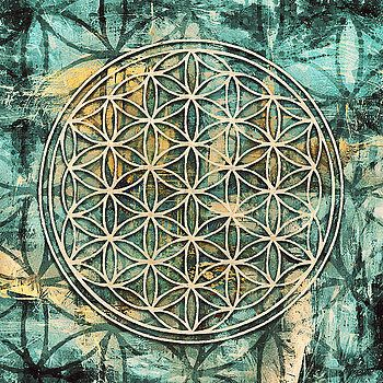 Flower of Life 1 by Sampad Art