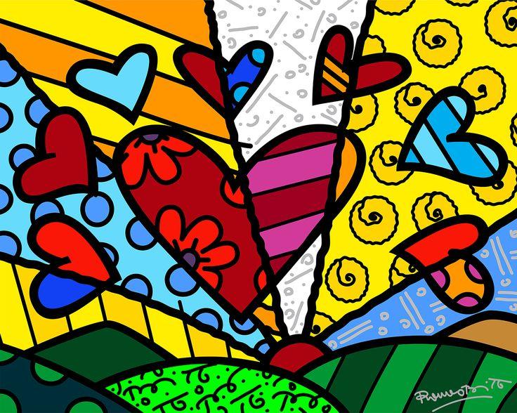 NOVO DIA(2013) (c) 2016 Britto Central,Inc / ブラジル代表のポップアーティスト ロメロ・ブリット  鮮やかな色使いが特徴的な作品約100点が来日! #アート #art