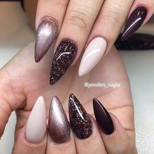 844 best nails images on pinterest hair makeup and nail designs repost  jennifersnaglar notd stiletto nailsgel - Pointed Nails Designs Image Collections - Nail Art And Nail Design