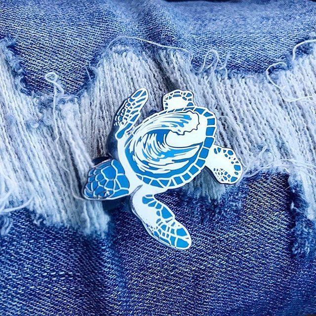 Repost from @finpinshop - Pin Drop! Did you know sea turtle nesting season starts next week?! We created these little hatchlings to celebrate the start of nesting season! When emerging from the nest hatchlings use the natural light horizon along with the white crests of the waves to guide their way to the ocean. Any other light sources such as beachfront lighting street lights light from cars campfires etc. can lead hatchlings in the wrong direction also known as disorientation. You can help