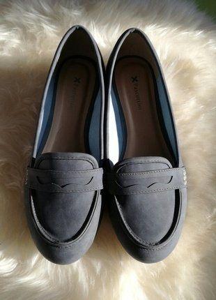 Kaufe meinen Artikel bei #Kleiderkreisel http://www.kleiderkreisel.de/damenschuhe/ballerinas/142731160-graublauer-loafer-ballerina-gr-38