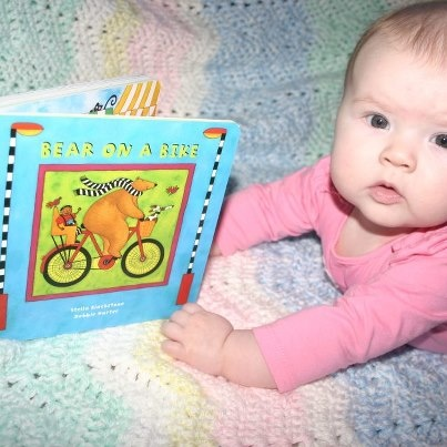 February 18, 2013--Check out this young reader!!