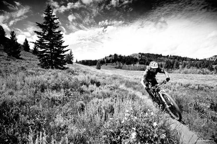 Photo of the Day: @Scott Markewitz - Location: @Visit Sun Valley, Idaho. #MTB #Photography
