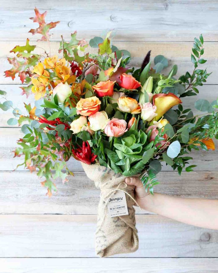 17 Hostess Gifts for Your Mother-in-Law | Martha Stewart Weddings -- Flowers are a guaranteed way to make any mom happy—have Farmgirl Flowers ship one of their gorgeous seasonal arrangements a day before you arrive to get your in-laws excited for your visit.