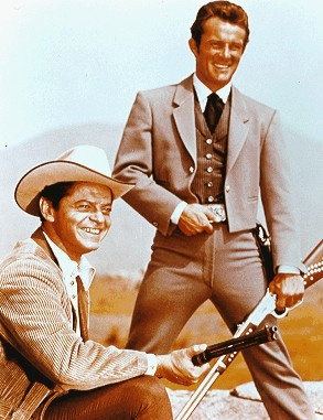 Ross Martin, Robert Conrad - the first Wild, Wild West