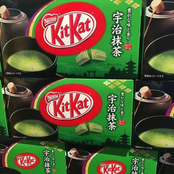 Green Tea  Kit Kat #greenteakitkat #japan #visitjapan2016 #visitjapan #travel @kitkat #kitkat