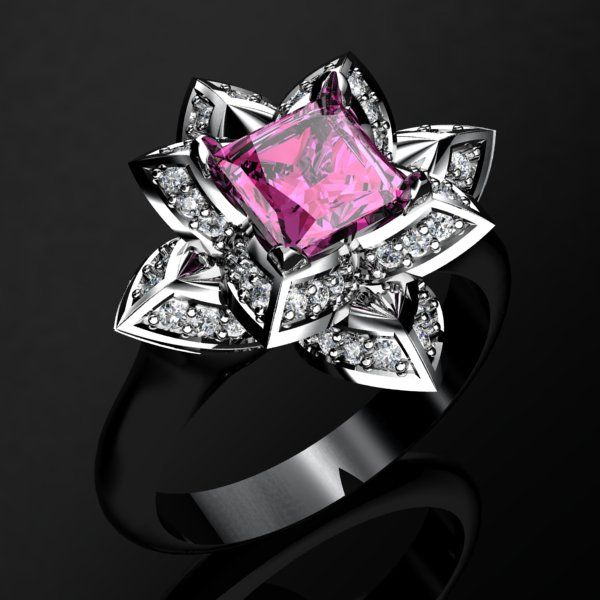 Lotus Ring Contact us at http://www.mydiamonds.com.au for more information