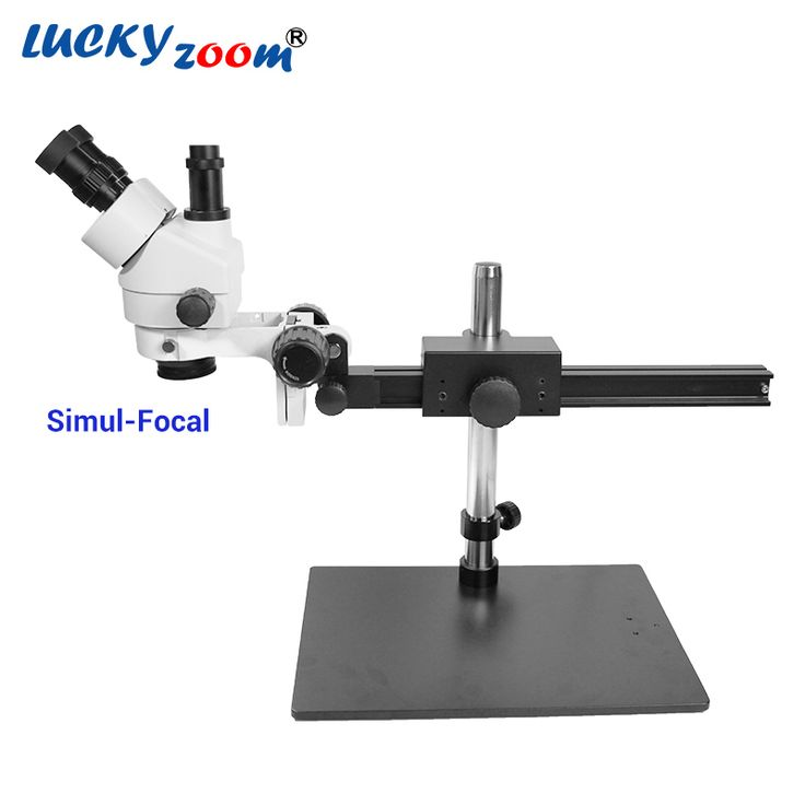 Find More Microscopes Information about Luckyzoom 7X 45X Simul Focal Trinocular Stereo Zoom Microscope Flexible Tripod Stand PCB Inspection Soldering Phone Microscopio,High Quality Microscopes from LUCKY ZOOM Stereo Microscope Store on Aliexpress.com
