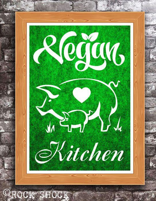 'Vegan Kitchen' Check out this item in my Etsy shop https://www.etsy.com/uk/listing/508383984/vegan-kitchen-home-decor-inspirational #vegankitchen #veganrestaurant #vegancafe #vegandiner #veganfood #vegans #veganism #govegan #lovegan #veganprint #veganhome #homedecor #kitchendecor #kitchendecoration #vegan4life #animalrights #creultyfree #vegans #veganstyle