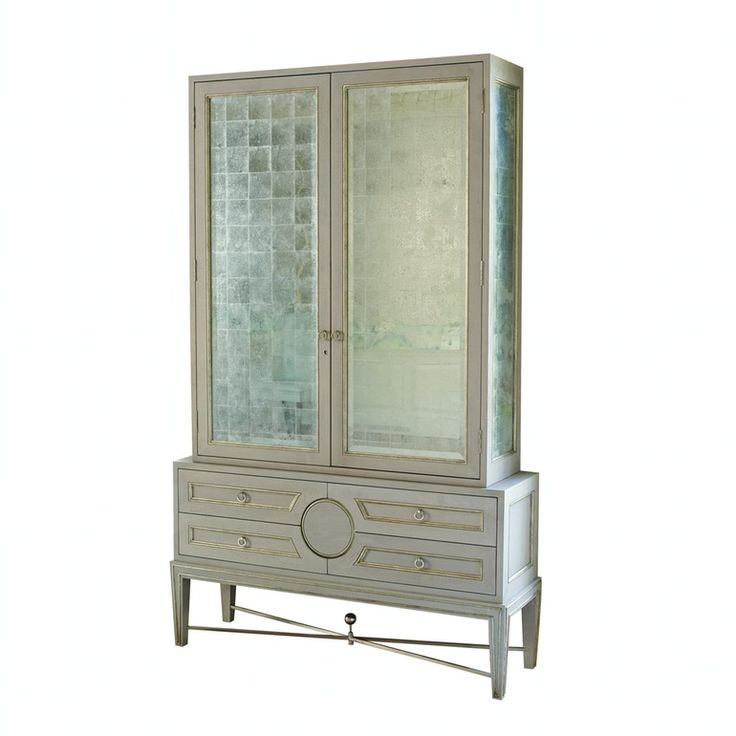 Collectors Cabinet From Global Views Transitional, Glass, Cabinet By New  York Design Center