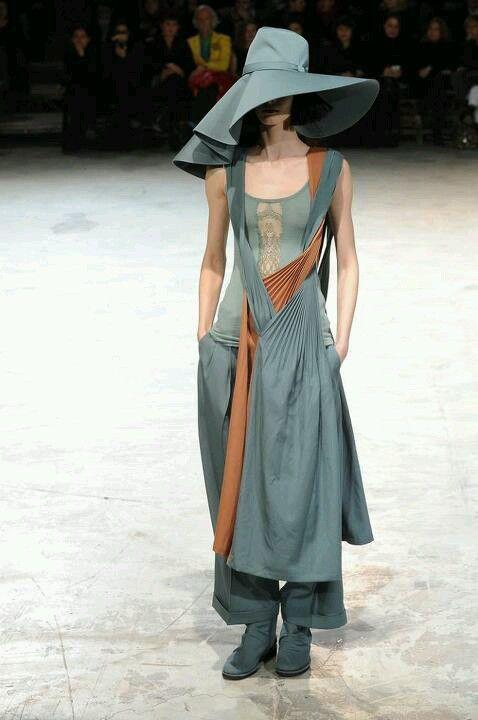 Yoji Yamamoto. I like the shape ; wouldn't wear the color.