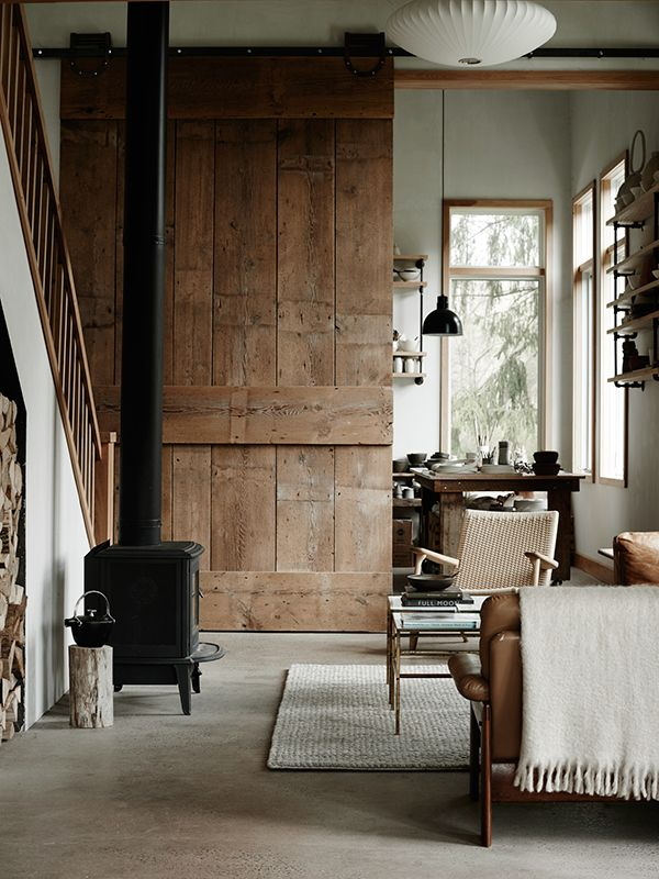 A CERAMIST'S FARMHOUSE IN UPSTATE NEW YORK