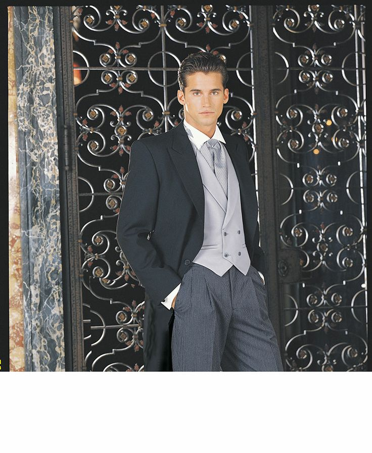 Thomas & Sons Tuxedos & Suits Black Cutaway