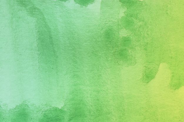 Download Green Shade Of Abstract Watercolor Art Hand Paint