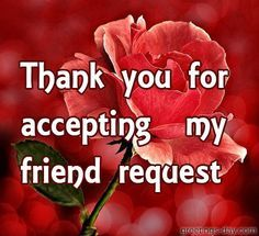 21 best thank you friend requests images on pinterest thanks