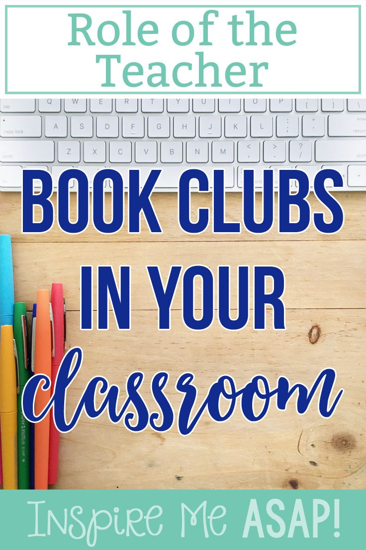 Book Club in the Classroom: 10 Tips for Success - Center ...