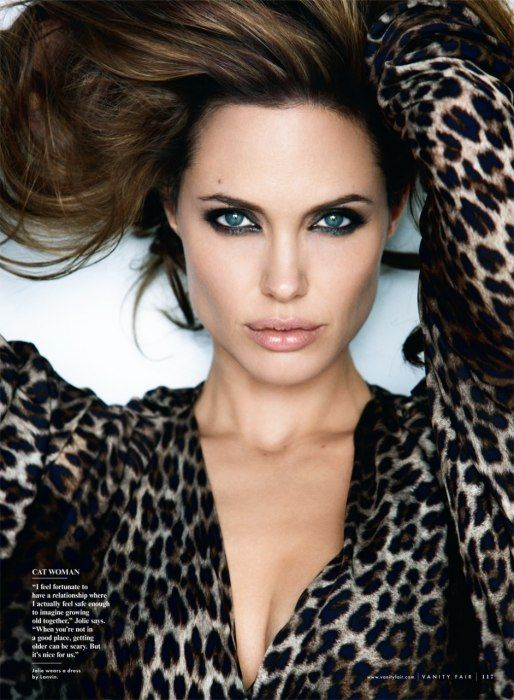 This woman.  She's unreal looking.  So gorgeous.  #PatrickDemarchelier #AngelinaJolie from Angelina, Uninterrupted | Vanity Fair