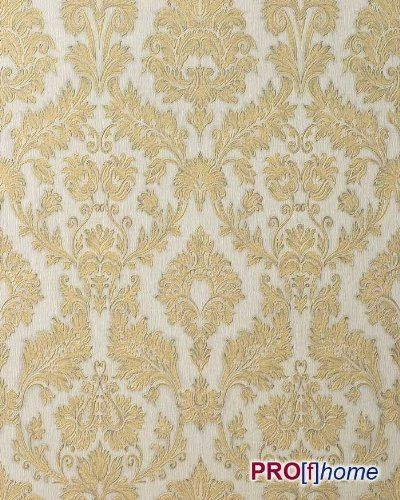 EDEM 708-30 embossed heavy-weight wallpaper baroque damask champagner-white gold platin | 57 sq ft by EDEM, http://www.amazon.com/dp/B004CS9QYM/ref=cm_sw_r_pi_dp_Zhlfqb0KV72A8