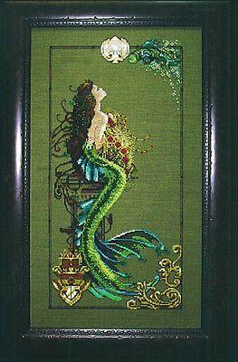 Mermaid of Atlantis - Mirabilia Cross Stitch Pattern